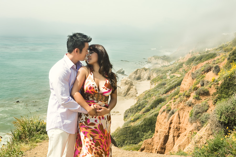 Pablo & Kim: Malibu Engagement Session